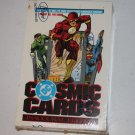 DC Cosmic Cards Inaugural Edition - Sealed box of 36 packs