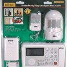The HOMESAFE WIRELESS HOME SECURITY SYSTEM