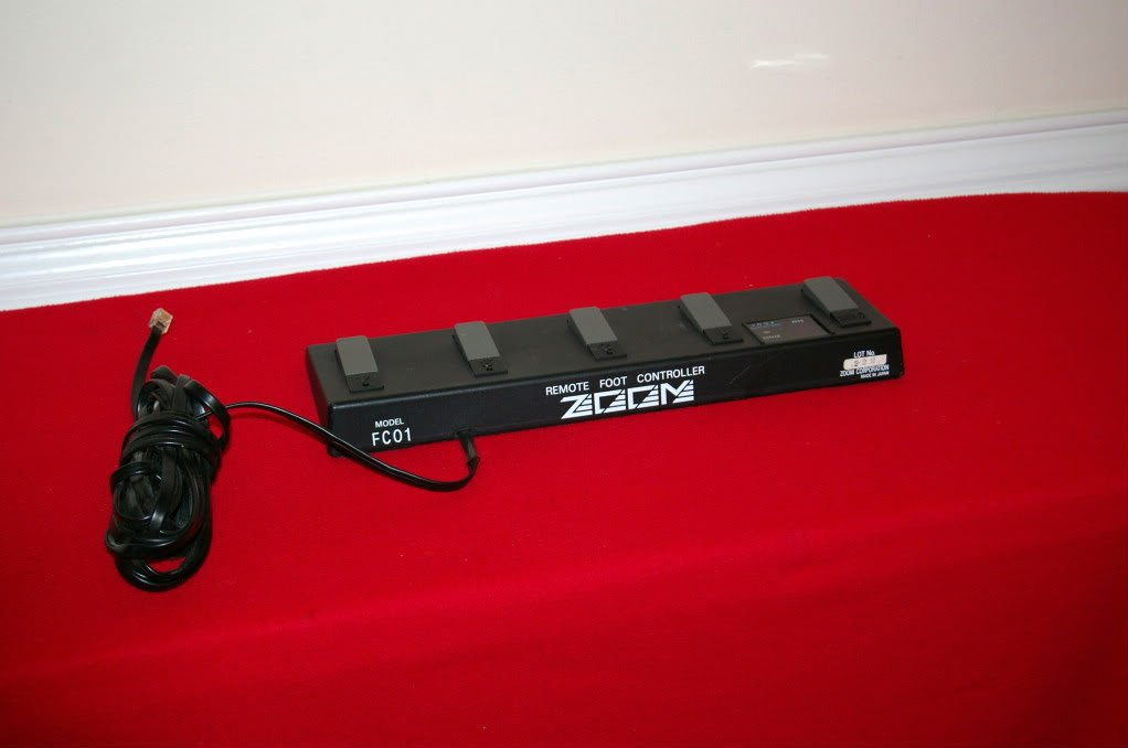 Zoom FC01 Remote Foot Controller