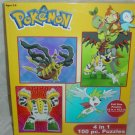 Pokemon  4 in 1 (100 piece puzzles)