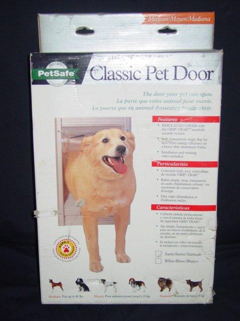 Classic Pet Door - Satin