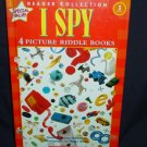 I Spy - 4 Picture Riddle Books - Level 1