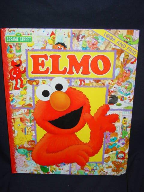 Sesame Street Elmo - Look and Find