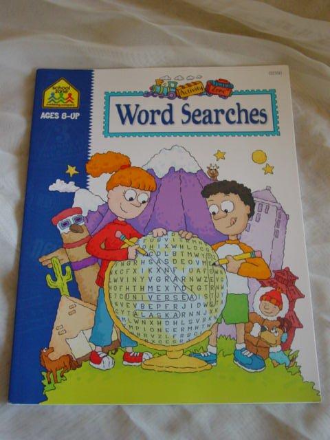School Zone - Word Searches