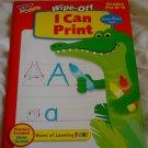 Wipe-off I Can Print Workbook