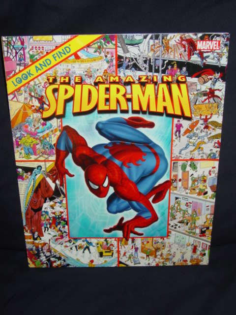 The Amazing Spider-Man - Look and Find