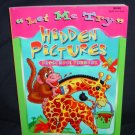 """Let Me Try"" Picture Puzzles Preschool Funbook"