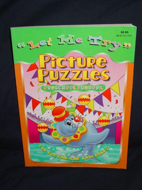 """""""Let Me Try"""" Hidden Pictures Preschool Funbook"""