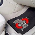 Ohio State University 2 Piece Front Car Mats