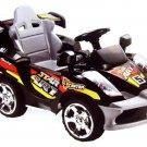 Mini Motos Star Ride On Car 6V Black (Remote Controlled)