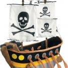 JooJoo Plush 16 Inch Pirate Ship