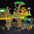Animal Planet Jungle Fortress Treehouse Playset