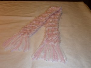 Princess Pink Little Girl Scarf
