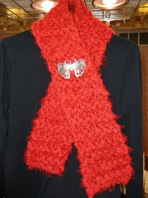 Red Hot Scarf