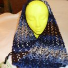Knitted Lace Spring Infinity Cowl Scarf