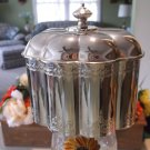 Godinger Fluted Jewelry Box Silver Plate by Paul Revere 1994