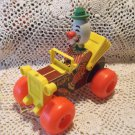 Fisher Price # 724 Jalopy Pull Toy 1966-1978