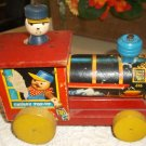 Fisher Price Chuggy Pop Up 616 Pull Toy 1955-1956