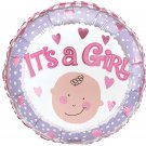 18 Inch Mylar Oh Baby Its a Girl Balloon