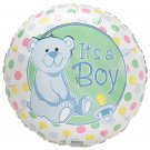 Baby Darlin Dots Its a Boy Balloon 18 Inch Mylar