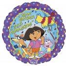 Dora the Explorer Happy Birthday 18 Inch Mylar Balloon