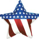 Stars and Stripes 18 Inch Foil Balloon