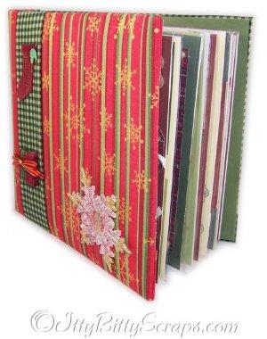 Vintage Styled Christmas 8x8 Album
