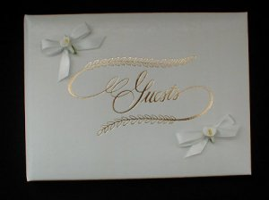 CALLA LILY Wedding/Anniversary/Shower Guest Book