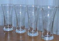 Vintage Libbey Glassware Liqueor Glasses (2) Lots of Four - Fun Cut Detailing