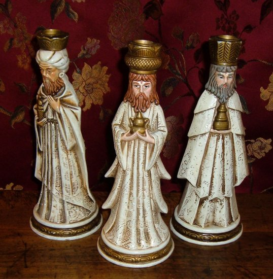 Vintage Christmas The Three Kings by Caffco Japan