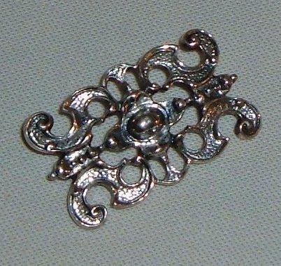 Vintage European Silver Brooch - Marked 825