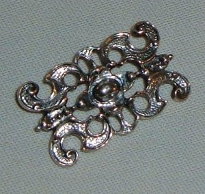 Vintage European Silver Brooch - Marked 825