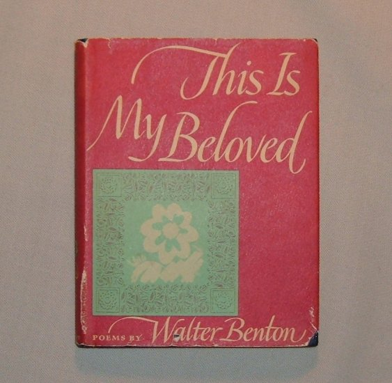 This is My Beloved 1964 Pocket Edition by Knopf Borzoi Books