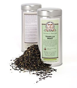 Green Tea: Vanilla Mint - 4oz Tin