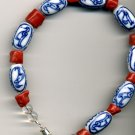 Red Coral Japanese Fertility Bracelet