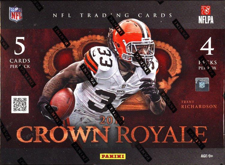 2012 Crown Royale Football Package #1