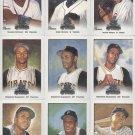 2002 donruss diamond kings roberto clemente #122 sp card