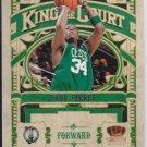 2009/2010 panini crown royal king of the court paul pierce #7 card