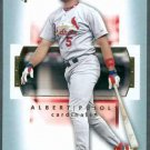 2 albert pujols cards 02 topps 08 ud sweet spot