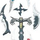 8pc Fantasy Knife Set