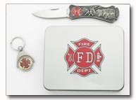 Firefighter w/ Tin Great Gift