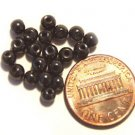 25 Magnetic Hematite Beads 4mm
