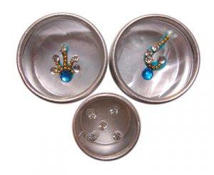 Body Jewelry - Turquoise Set
