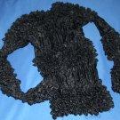 Poodle Popcorn Shirt - Jet Black