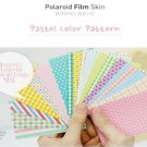 Fujifilm Instax Mini Polaroid 7s 8 25 50s 90 Film Skin Sticker Frame 20 pcs/pack Pastel