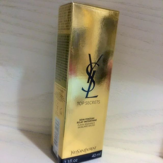 YSL Saint Laurent Top Secrets Flash Radiance Skincare Brush 40ml