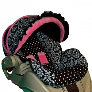 Custom Infant Car Seat Cover Park Place