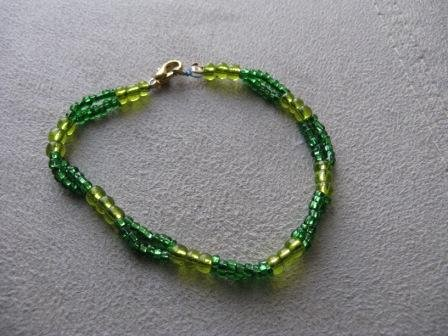 Gorgeous Greens Bracelet
