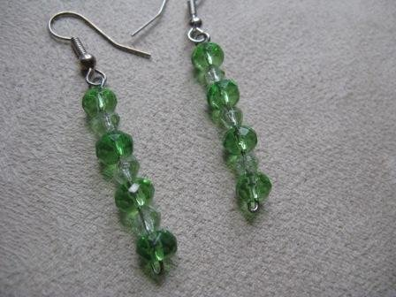 Sea Green Dangle Earrings