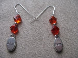 Orange Create Earrings